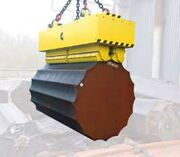 Electropermanent for ingots and round bars Ø 600÷850 mm and maximum weight 32 t