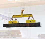 Beam with electro-permanents for slabs maximum weight 26 t